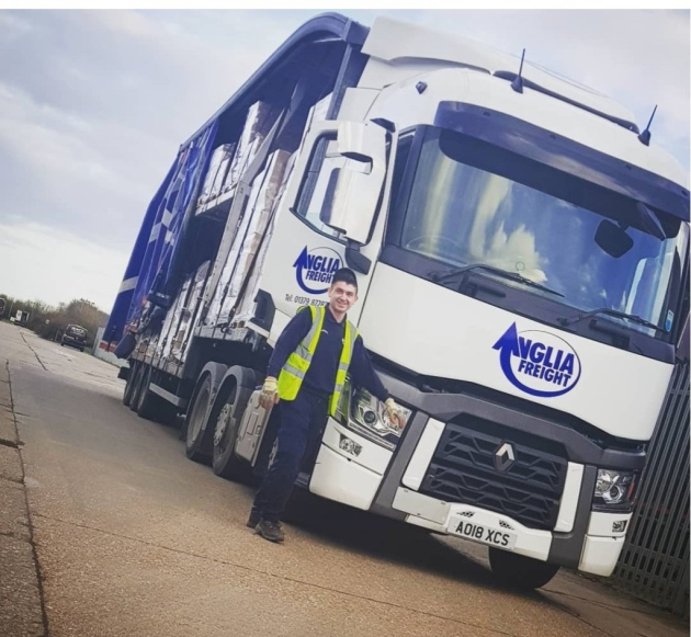 Anglia Freight in the driving seat with new training initiative