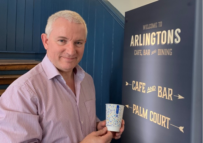 Arlingtons Of Ipswich Is First Frugal Cup Pioneer During Uk