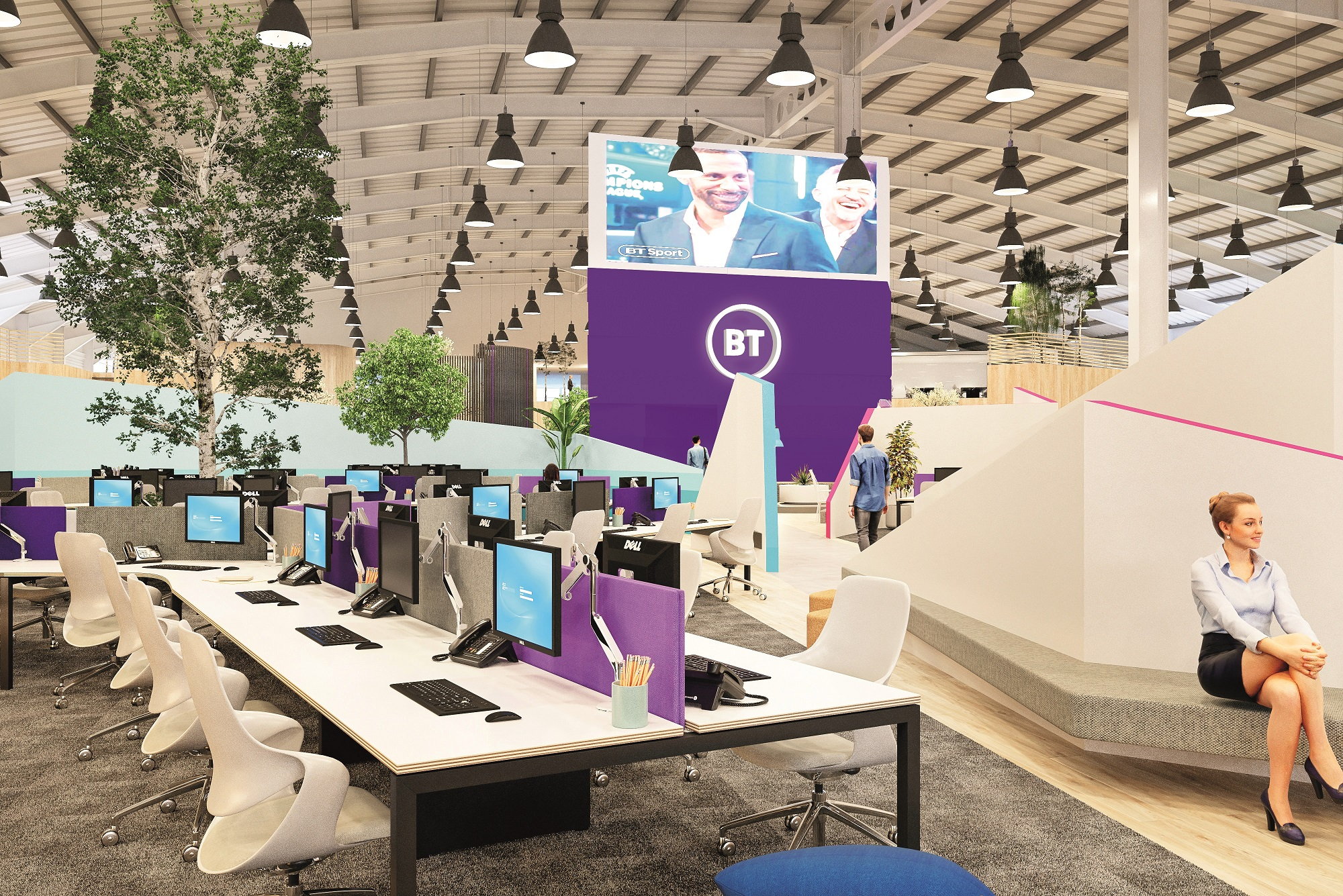 Ipswich one of first locations for BT workplace improvement programme