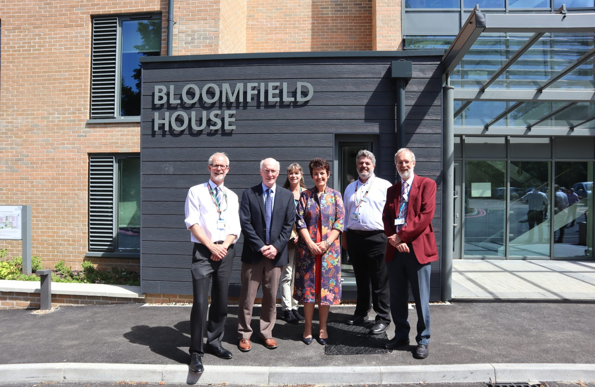 New staff accommodation at the West Suffolk Hospital officially opened