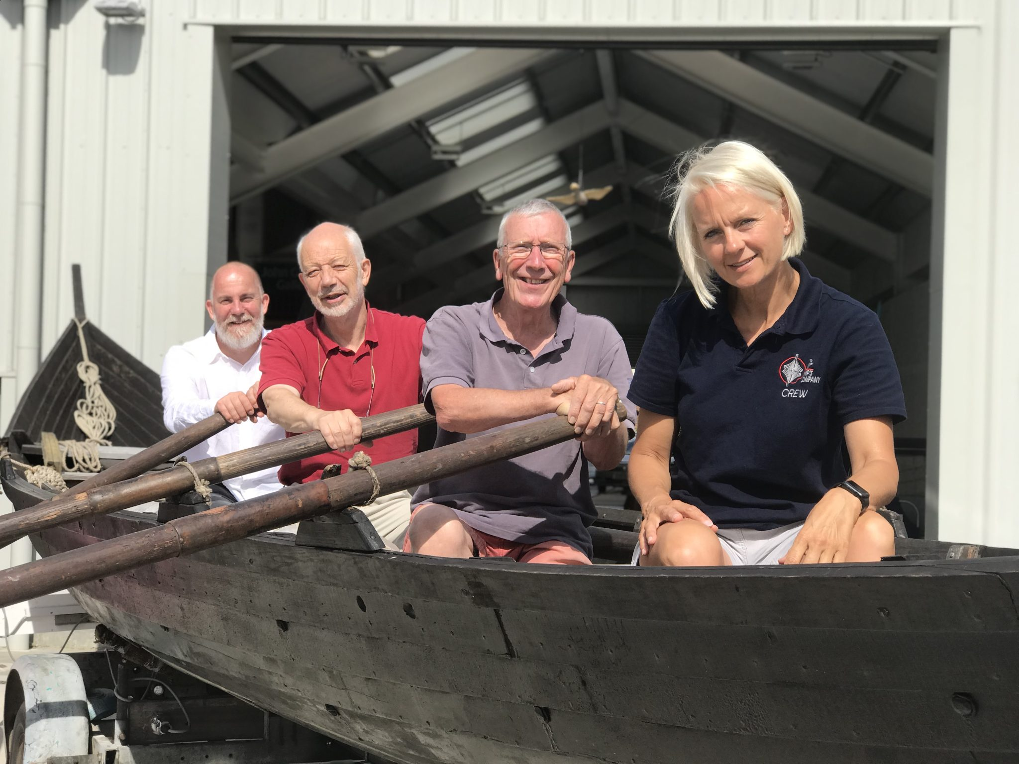 Public urged to 'make ship happen' for Sutton Hoo rebuild