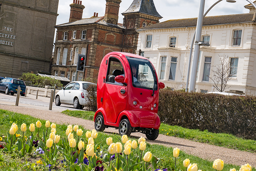 Wild & Wacky Mobility, the unique Suffolk mobility scooter company