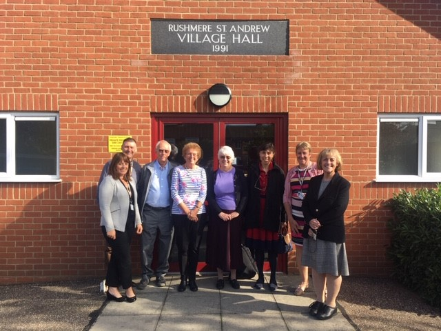 Ministerial visit celebrates 'village hall lifeline'