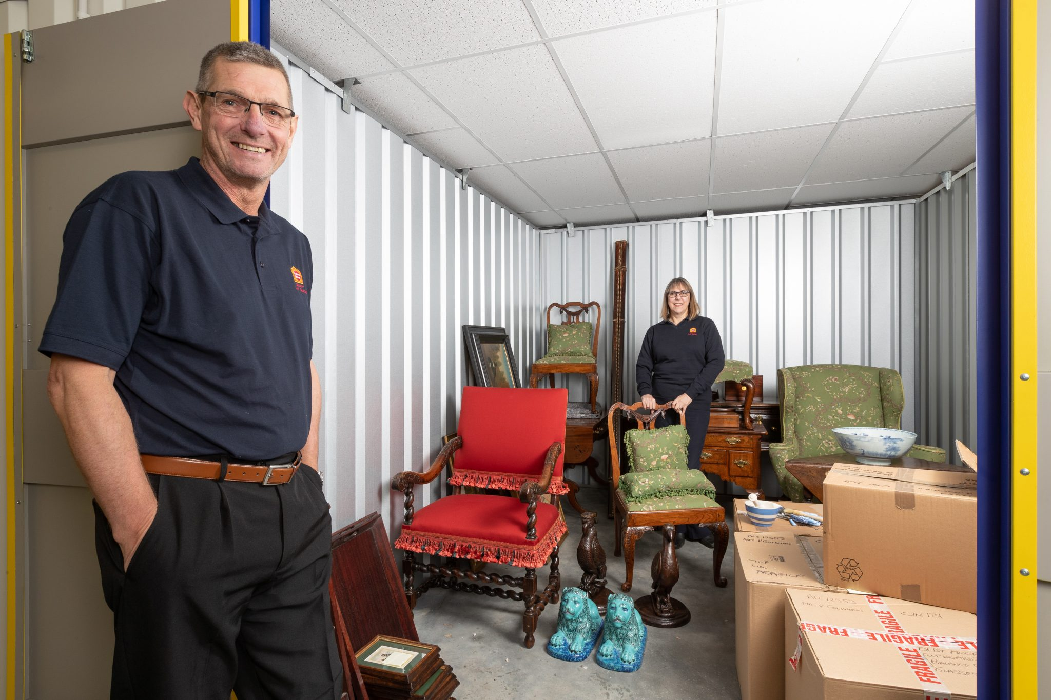 Suffolk homeowners see benefits of self-storage during refurbishment projects