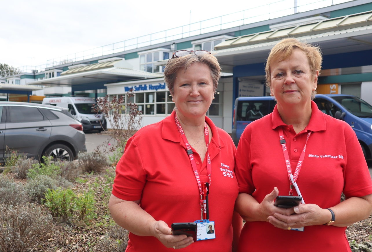 Volunteers take time to save time for NHS staff