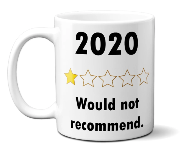 Dirty Old Goat launches funny 2020 Review mug
