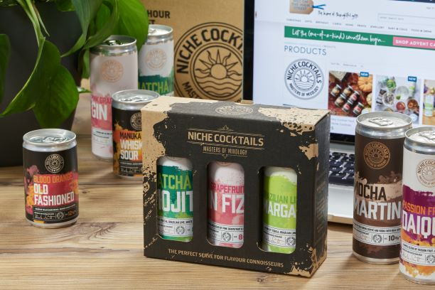 Canned cocktail brand secures listing with Not on The High Street