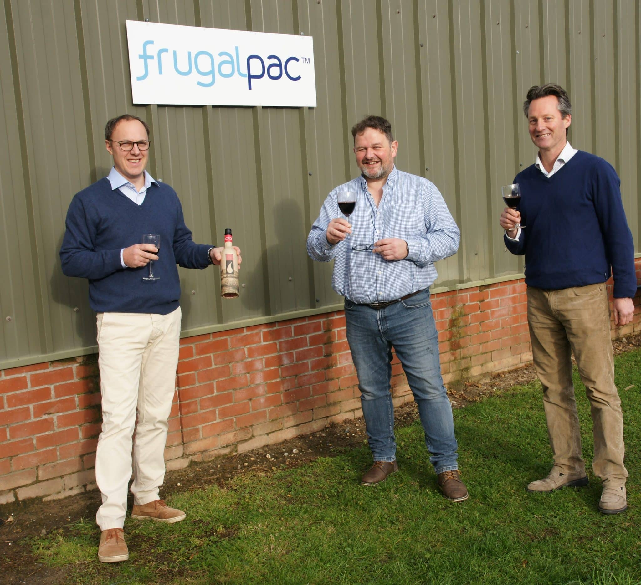 Production of paper wine bottle accelerated in Suffolk